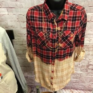 Tops - Hand dipper flannel